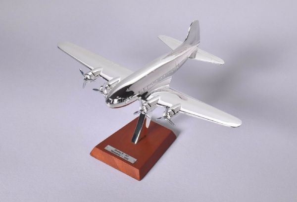Atlas HB16 1/200 Scale Silver Aeroplane 1/200 Boeing B-307 Stratoliner - 1938